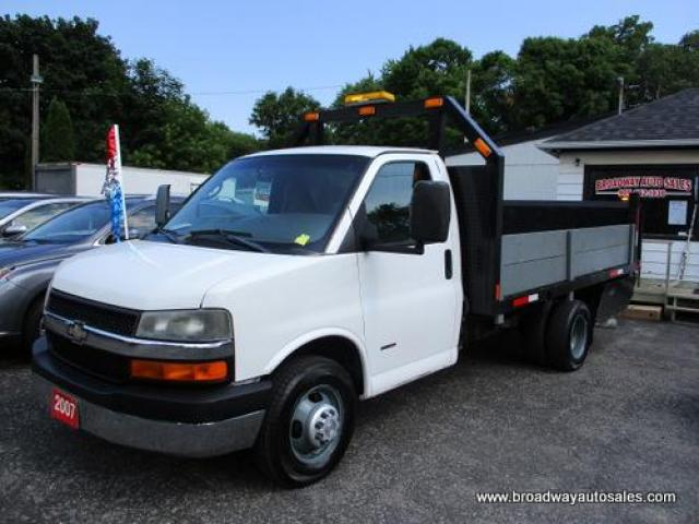 "2007 Chevrolet Express 1-TON LS EDITION 2 PASSENGER 6.6L - DURAMAX.. 12'6"" FLAT-DECK BOX.. POWER LIFT-GATE.. USB CONNECTION.. AIR CONDITIONING.."