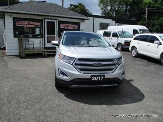 Used 2017 Ford Edge ALL-WHEEL DRIVE SEL EDITION 5 PASSENGER 3.5L - V6.. NAVIGATION.. LEATHER.. HEATED SEATS.. BLUETOOTH SYSTEM.. PANORAMIC SUNROOF.. BACK-UP CAMERA.. for sale in Bradford, ON