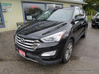 Used 2016 Hyundai Santa Fe ALL-WHEEL DRIVE LIMITED-SPORT-MODEL 5 PASSENGER 2.0L - TURBO.. NAVIGATION.. LEATHER.. HEATED/AC SEATS.. PANORAMIC SUNROOF.. BACK-UP CAMERA.. for sale in Bradford, ON