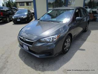 Used 2018 Subaru Impreza ALL-WHEEL DRIVE SE EDITION 5 PASSENGER 2.0L - DOHC.. TOUCH SCREEN.. BACK-UP CAMERA.. BLUETOOTH SYSTEM.. KEYLESS ENTRY.. for sale in Bradford, ON