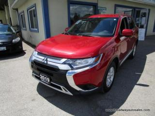 Used 2019 Mitsubishi Outlander ALL-WHEEL CONTROL ES EDITION 5 PASSENGER 2.4L - DOHC.. ECO-MODE-PACKAGE.. BACK-UP CAMERA.. BLUETOOTH SYSTEM.. HEATED SEATS.. for sale in Bradford, ON