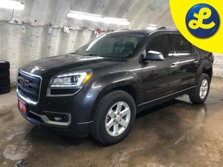 Used 2014 GMC Acadia SLE1 * 8 Passenger * On Star * Bluetooth mobile phone connectivity * Automatic headlights * Reverse camera with park assist * Keyless entry * Tilt/tel for sale in Cambridge, ON