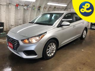 Used 2018 Hyundai Accent Heated front seats * Back-Up Camera * Phone connect * Android Auto Apple Carplay AM/FM/SiriusXM Audio System -inc: 7.0 colour touchscreen 2 front an for sale in Cambridge, ON