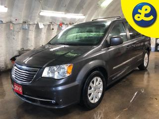 Used 2016 Chrysler Town & Country Touring * Stow N Go * Automatic headlights with fog lights * Power front seats * Heated front seats * Power sliding doors and rear lift gate * Power f for sale in Cambridge, ON