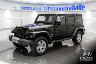 Used 2011 Jeep Wrangler 4X4 + GARANTIE INCLUSE + A/C + CRUISE + for sale in Drummondville, QC