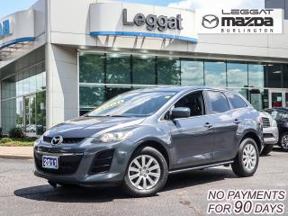 Used 2011 Mazda CX-7 GX- LUXURY PKG, LEATHER HEATED SEATS, MOONROOF, BLUETOOTH for sale in Burlington, ON