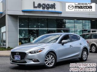 Used 2017 Mazda MAZDA3 GS- AUTOMATIC, BLUETOOTH, HEATED SEATS, ALLOY WHEELS for sale in Burlington, ON