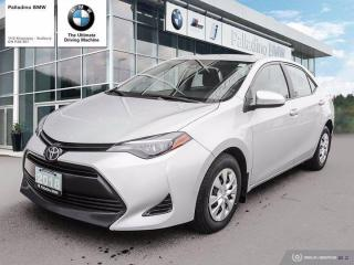 Used 2018 Toyota Corolla CE - GREAT FUEL ECONOMY, RESALE VALUE, SAFE & RELIABLE for sale in Sudbury, ON