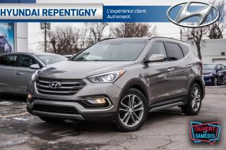 Used 2017 Hyundai Santa Fe Sport AWD 2.0T Limited*A/C, CUIR, NAV, TOIT PANORAMIQUE* for sale in Repentigny, QC