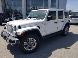Used 2020 Jeep Wrangler Unlimited Sahara for sale in Port Coquitlam, BC