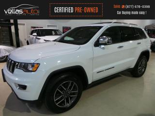 Used 2019 Jeep Grand Cherokee Limited LIMITED| NAVI| SUNROOF| 4X4| HEATED SEATS for sale in Vaughan, ON