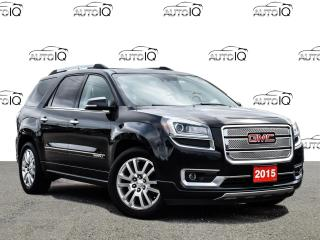 Used 2015 GMC Acadia Denali for sale in Tillsonburg, ON