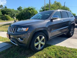 Used 2016 Jeep Grand Cherokee Limited for sale in Cobourg, ON