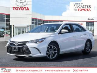 Used 2016 Toyota Camry SE for sale in Ancaster, ON
