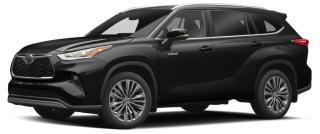 New 2020 Toyota Highlander HYBRID XLE for sale in Stouffville, ON