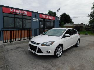 Used 2013 Ford Focus Titanium|FULLY LOADED|NAVI|LEATHER|SUNROOF for sale in St. Thomas, ON