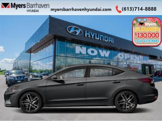 New 2020 Hyundai Elantra Sport DCT  - Sunroof -  Leather Seats - $176 B/W for sale in Nepean, ON