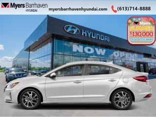 New 2020 Hyundai Elantra Ultimate  - Navigation -  Leather Seats - $178 B/W for sale in Nepean, ON