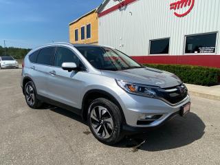 Used 2015 Honda CR-V Touring with Navigation for sale in Tillsonburg, ON