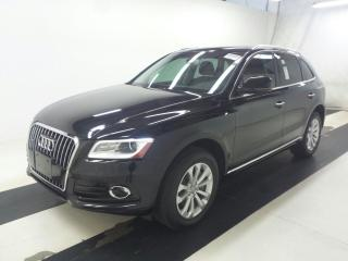 Used 2016 Audi Q5 Q5/PUSH BUTTON START/PANORAMA ROOF/BLUETOOTH! for sale in Toronto, ON