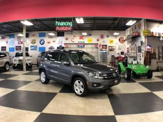 Used 2016 Volkswagen Tiguan 2.0TSI COMFORTLINE SPORT PKG AWD LEATHER PANO/ROOF BACKUP CAMERA for sale in North York, ON