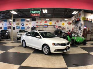 Used 2016 Volkswagen Jetta Sedan 1.8TSI COMFORTLINE AUT0 A/C SUNROOF CAMERA 86K for sale in North York, ON