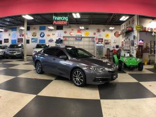 Used 2017 Acura TLX SH-AWD V6 AUT0 LEATHER SUNROOF CAMERA for sale in North York, ON