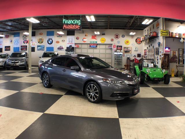 2017 Acura TLX SH-AWD V6 AUT0 LEATHER SUNROOF CAMERA