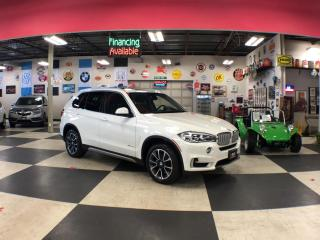 Used 2016 BMW X5 XDRIVE 35D PREMIUM NAVI TECHNOLOGY PKG 88K for sale in North York, ON