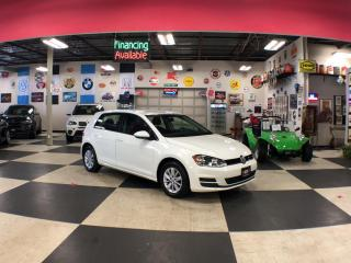 Used 2017 Volkswagen Golf 1.8TSI TRENDLINE AUT0 A/C H/SEATS BACKUP CAMERA 92K for sale in North York, ON