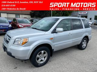 Used 2006 Honda Pilot EX-L 4WD+8 Passenger+Roof+Leather! for sale in London, ON