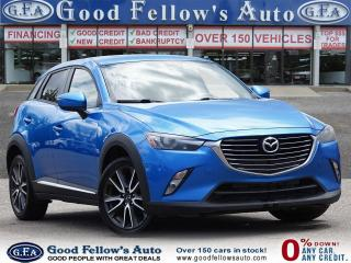 Used 2017 Mazda CX-3 GT 4CYL 2L SKYACTIV, AWD, REARVIEW CAMERA, SUNROOF for sale in Toronto, ON
