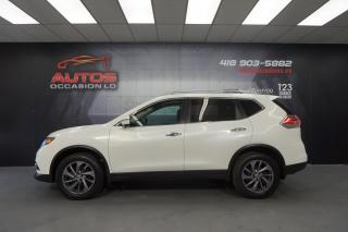 Used 2016 Nissan Rogue SL AWD CUIR TOIT PANO CAMERA 360 GPS NAV 80 326 KM for sale in Lévis, QC