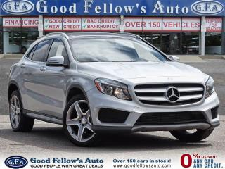 Used 2016 Mercedes-Benz GLA 4MATIC, BLIND SPOT, PANORAMIC ROOF, SPORT Pkg for sale in Toronto, ON