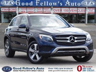 Used 2018 Mercedes-Benz GLC 300 16V TURBO, 4MATIC, PANORAMIC ROOF, BLIND SPOT, NAV for sale in Toronto, ON