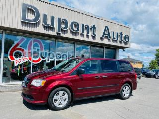 Used 2016 Dodge Grand Caravan Ensemble Valeur plus familiale 4 portes for sale in Alma, QC