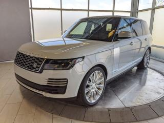 Used 2018 Land Rover Range Rover MSRP $171,784 - Long Wheel Base Autobiography. for sale in Edmonton, AB