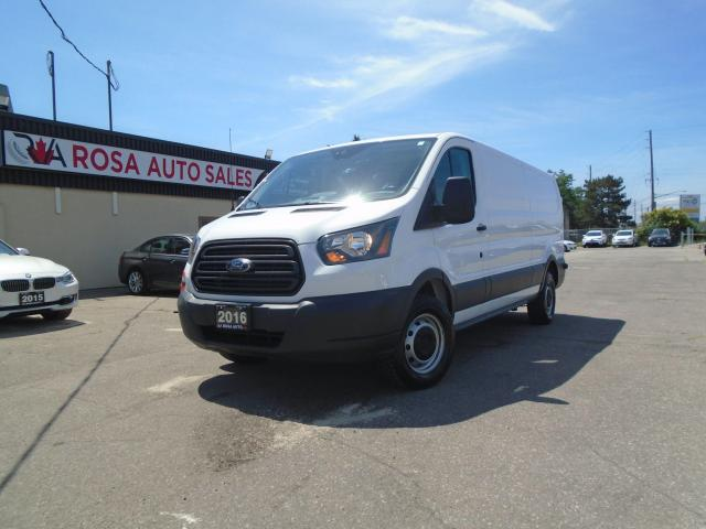 "2016 Ford Transit T-150 148"" Low Rf 8600 GVWR SAFETY B-TOOTH B-CAMER"