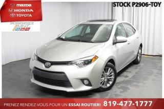 Used 2015 Toyota Corolla LE| TOIT| MAGS| SIÈGES CHAUFFANTS for sale in Drummondville, QC