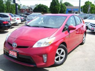 Used 2015 Toyota Prius Hybrid,One Owner,Clean Car Fax,Certified,Gas Saver for sale in Kitchener, ON