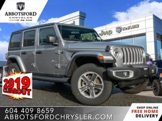 New 2019 Jeep Wrangler Unlimited Sahara  - Heated Seats - $307 B/W for sale in Abbotsford, BC