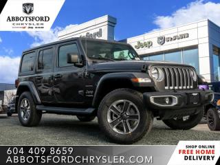 New 2020 Jeep Wrangler Unlimited Sahara  - Heated Seats - $320 B/W for sale in Abbotsford, BC