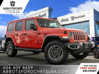 New 2020 Jeep Wrangler Unlimited Sahara  - Leather Seats - $362 B/W for sale in Abbotsford, BC