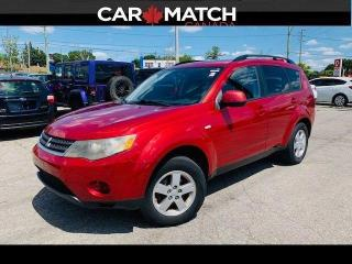Used 2008 Mitsubishi Outlander ES / AUTO / AC / 175315 KM for sale in Cambridge, ON