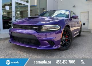 Used 2016 Dodge Charger HELLCAT - 6.2L 707 HP ANIMAL IN PLUM CRAZY, RARE, NAV, SUNROOF, SIZZLING! for sale in Edmonton, AB
