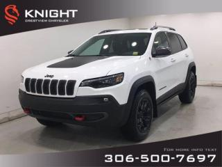 New 2020 Jeep Cherokee Trailhawk Elite | Leather | Sunroof | Navigation | for sale in Regina, SK