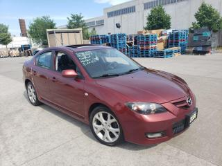 Used 2008 Mazda MAZDA3 Only 149000 km, Auto, Sunroof, Warranty avail for sale in Toronto, ON