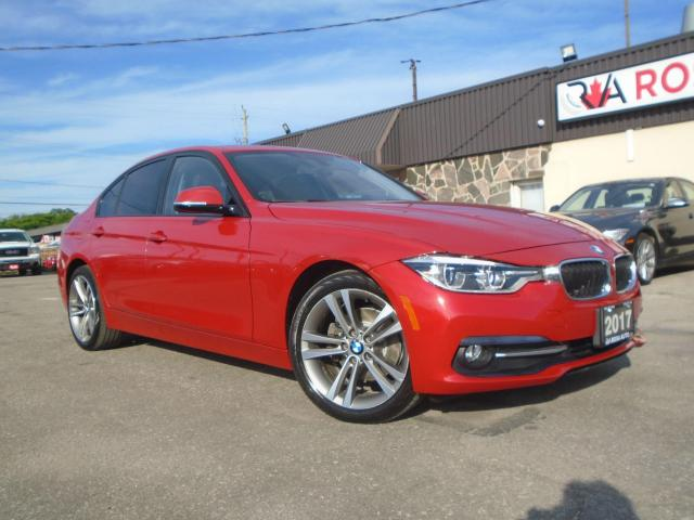 2017 BMW 3 Series X-DRIVE LOW KM NAVIGATION SUNROOF WARRANTY