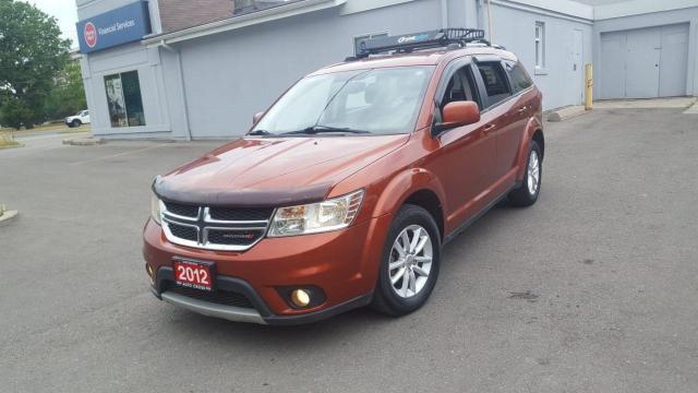 2012 Dodge Journey SXT, Low KM, Auto, 3/Y Warranty available.