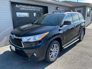 Used 2016 Toyota Highlander XLE for sale in Kingston, ON